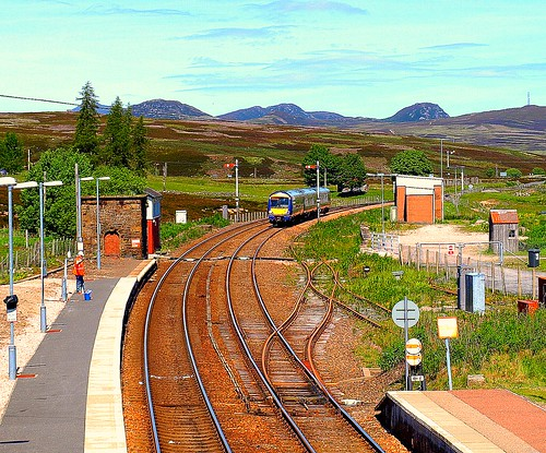 Dalwhinnie Station