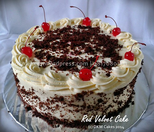 red velvet cake DKM CAKES jember