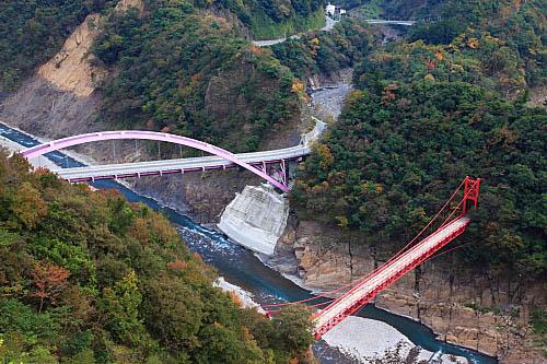 96K7北橫巴陵橋-大漢溪