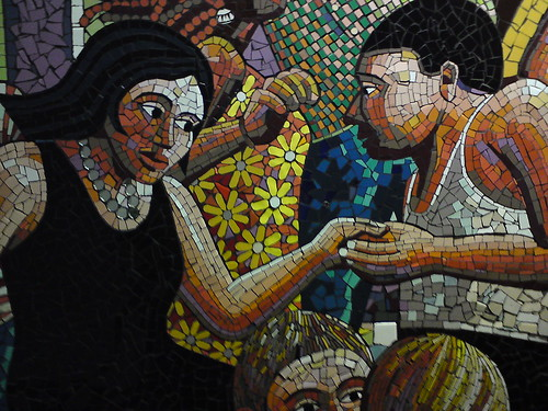 Addenbrooke's mosaic