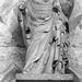 15 - 22 mars 2009 Longpont Abbaye Notre-Dame Ruines Statue ©melina1965
