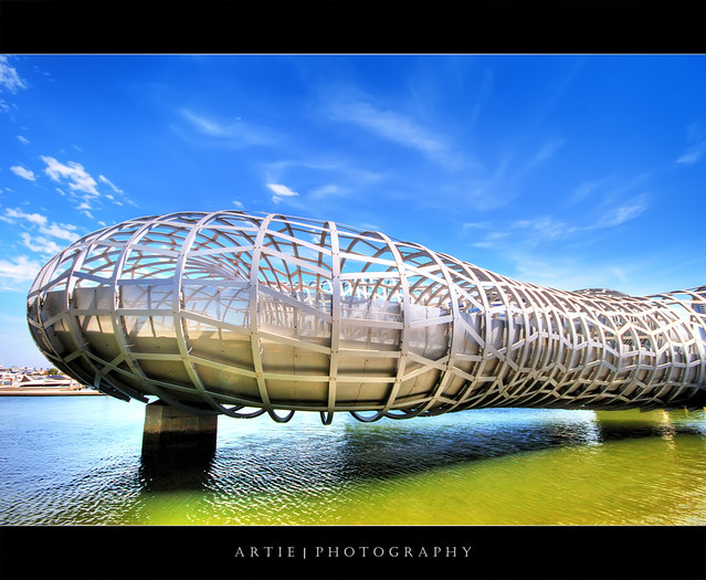 The Webb Bridge, Melbourne :: HDR
