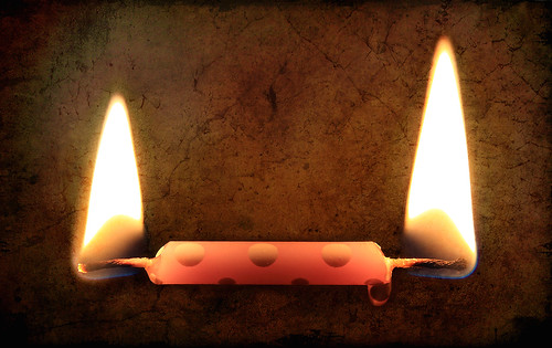 Burning My Candle at Both Ends