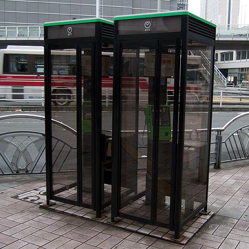 street japan japanese phone telephone photoblog booths boxes fukuoka photolog ntt kitakyushu 福岡 superlocal dscf6117jpg