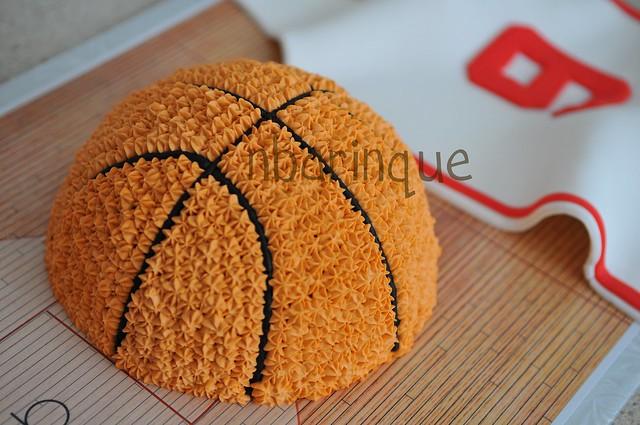 Basketball cake flickr photo sharing