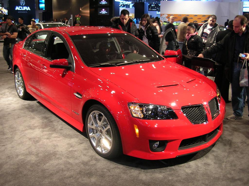 Pontiac G8 GXP   The Pontiac G8 is a rear-wheel drive sedan
