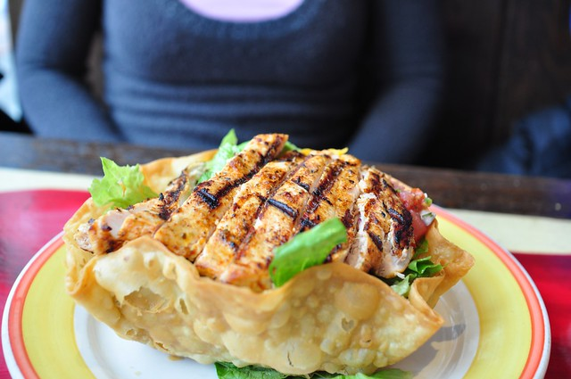 Grilled Chicken Tostada Salad | Flickr - Photo Sharing!