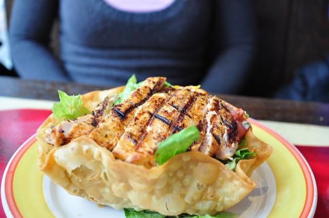 Grilled Chicken Tostada Salad | Flickr - Photo Sharing!