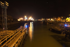 Newhaven HDR at night