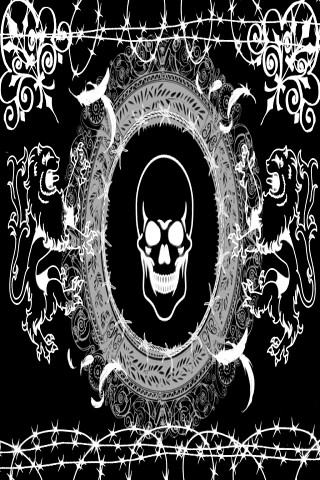 Emo or Goth - Wallpaper 4 Apples iPhone Classic, iPhone 3G, iPhone 3GS