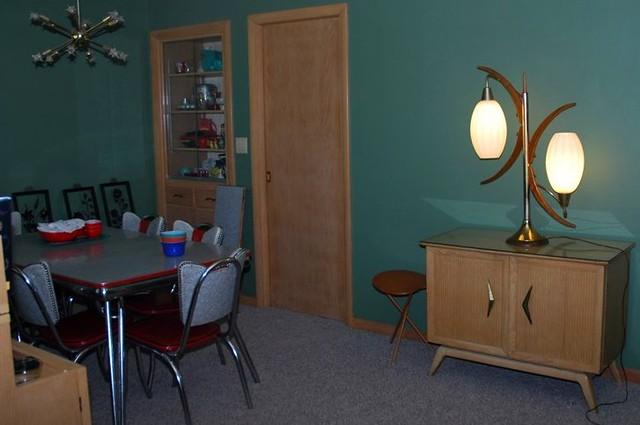 Front room w lane cedar chest danish modern lamp for Modern front room