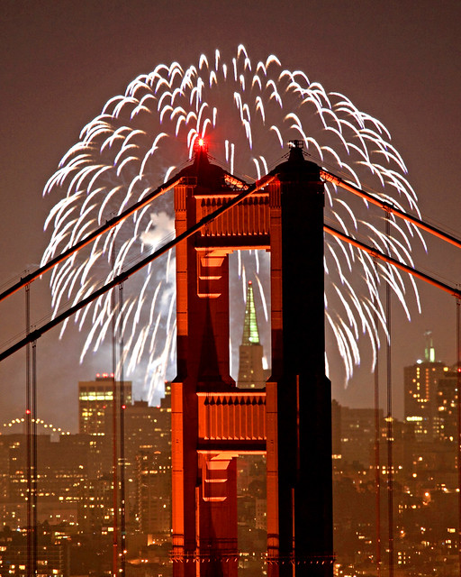 Golden Gate Fireworks