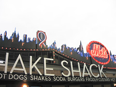 The Shea Stadium skyline relocated to Citi Field...at the concession stands.