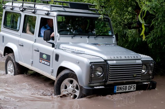 Land Rover Mobile Phone Launch Flickr Photo Sharing