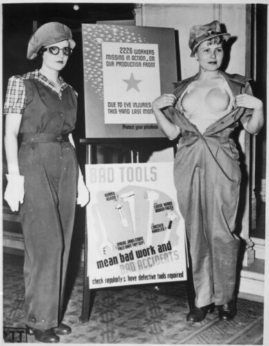 Safety Garb for Women Workers, ca. 1943