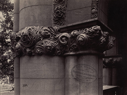 Detail, Austin Hall, Harvard Law School