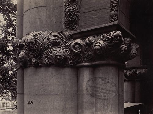 Detail, Austin Hall, Harvard Law School