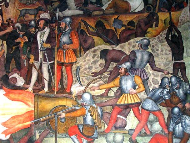 Los murales de diego rivera y el palacio nacional for Un mural de diego rivera