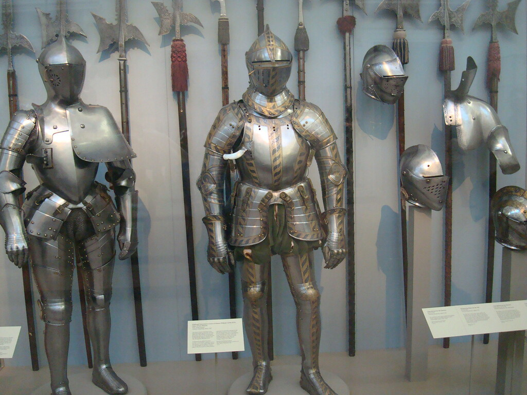 Medieval Armor and Weapons - a photo on Flickriver