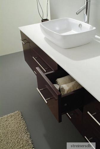 meuble salle de bain double vasques wenge marbre 619f. Black Bedroom Furniture Sets. Home Design Ideas