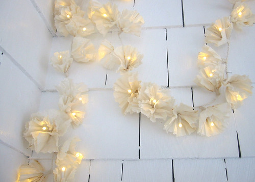 coffee filter lights ~