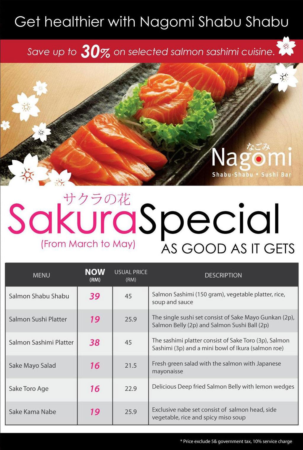 Sakura-Special-Menu