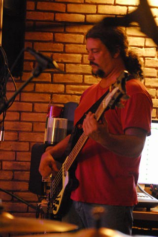 Mike-E for eminent, recording the creature sessions