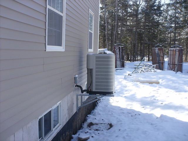 heat pump, wall mounted