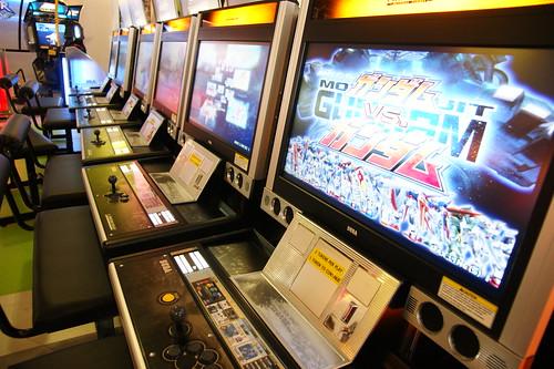 LCD Arcade Machine