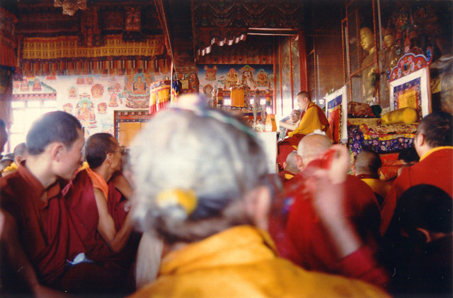 During the ritual