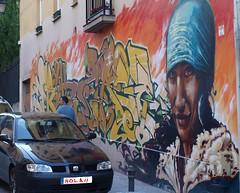 Pintura urbana, graffittis