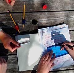 Pencil grips, Ergo Penagain, & colour filter