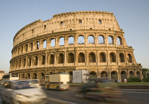Traffic Speeds by Colosseum