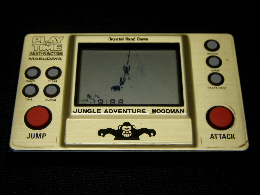1983 Jungle Adventure / Woodman Hand-Held Game