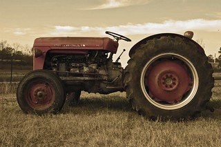 Aged Tractor