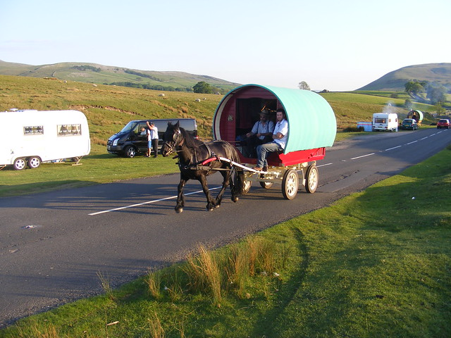 Elegant Caravan Stage Company Cofounder Adrian Kelder Has Been Living  Before Setting To Sea, Kelder And Kirby Operated A Horsedrawn Theatre Company On