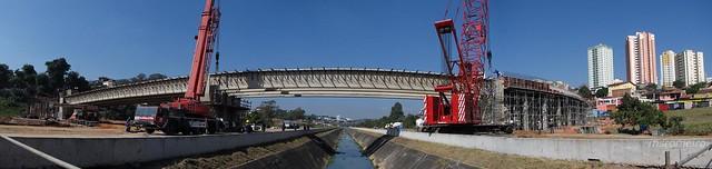 Nova Ponte sobre Ribeirão Vidoca