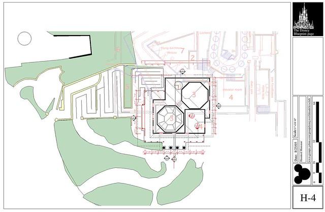 4555039421 f2ed60965c for Haunted mansion blueprints