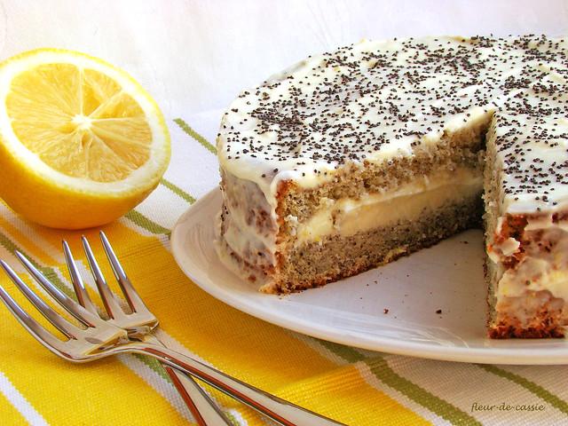 маково-лимонный торт 2