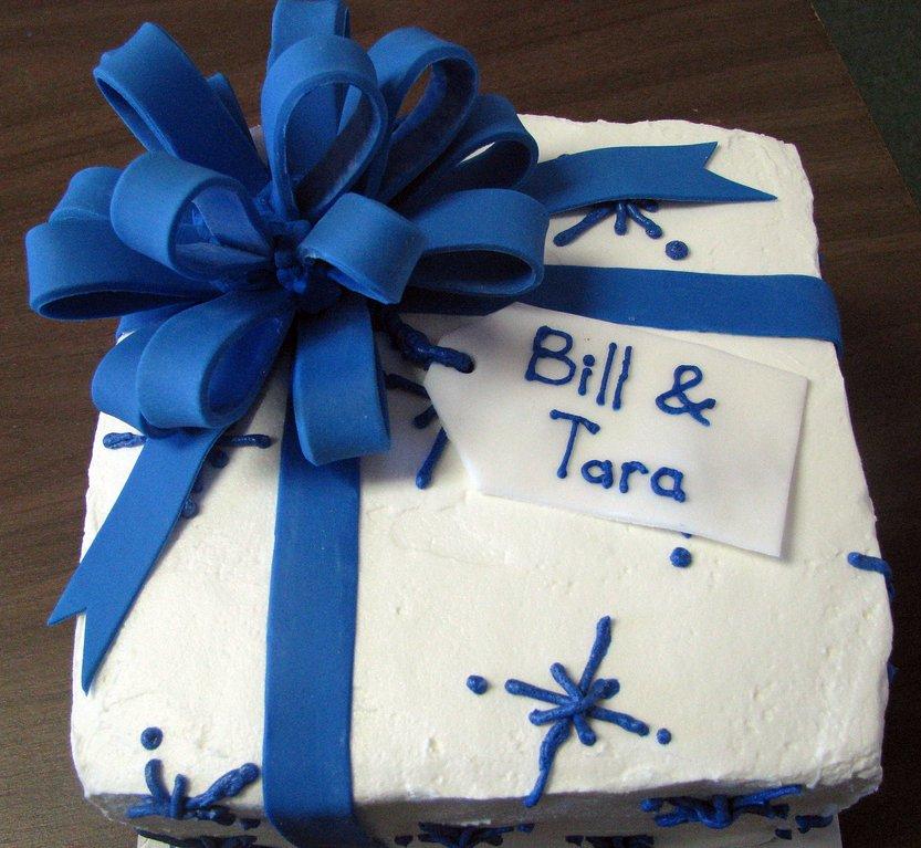 Buttercream Gift Box Cake
