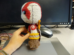 Kratos Sackboy (Left)
