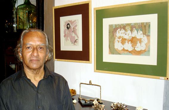 Goan Painter Vamona Navelcar