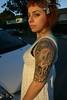 mimi's newest tattoo la la la