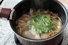 produce(0.0), soba(0.0), noodle(1.0), noodle soup(1.0), kalguksu(1.0), food(1.0), dish(1.0), soup(1.0), cuisine(1.0), udon(1.0),