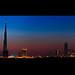 Dubai Skyline :: Blue Hour by DanielKHC