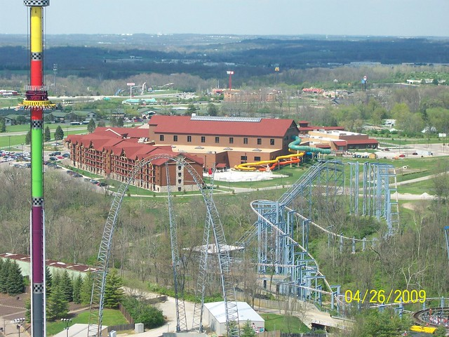 The Great Wolf Lodge at Kings Island is the amusement park's