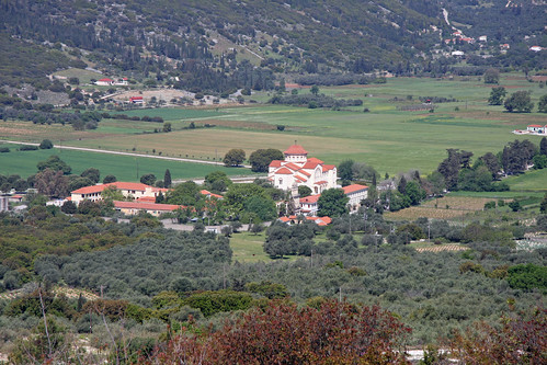 The Monastery and Church of Agios Gerassimos