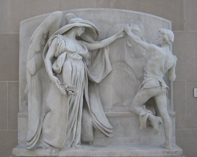 the angel of death and the sculptor by daniel chester french essay The next year ruth anne's daughter ella hired a sculptor, daniel chester french, to cast a bronze statue commemorating the angel that had given her eternal life in her dream the angel statue was unveiled in 1920.