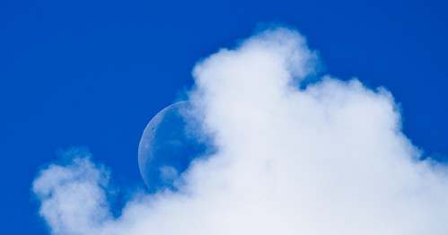 Moon & Clouds