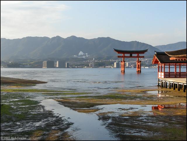 Itsukushima Shrine--Torii